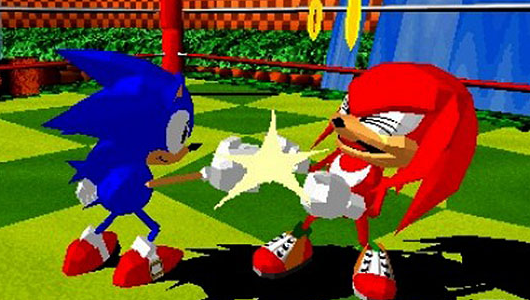 sonic the fighters gamecube