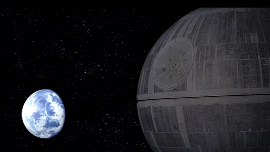 alderaan death star