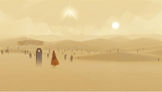 The loneliness in Journey is overwhelming at times