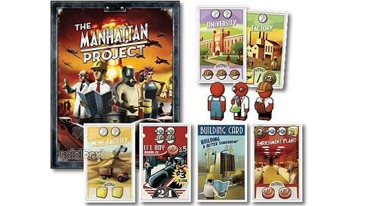 Resultado de imagem para project manhattan boardgame
