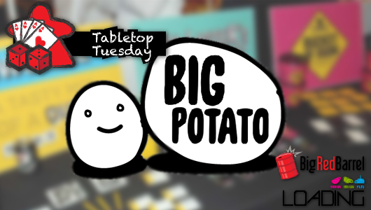 Tabletop Tuesday Featured Big Potato