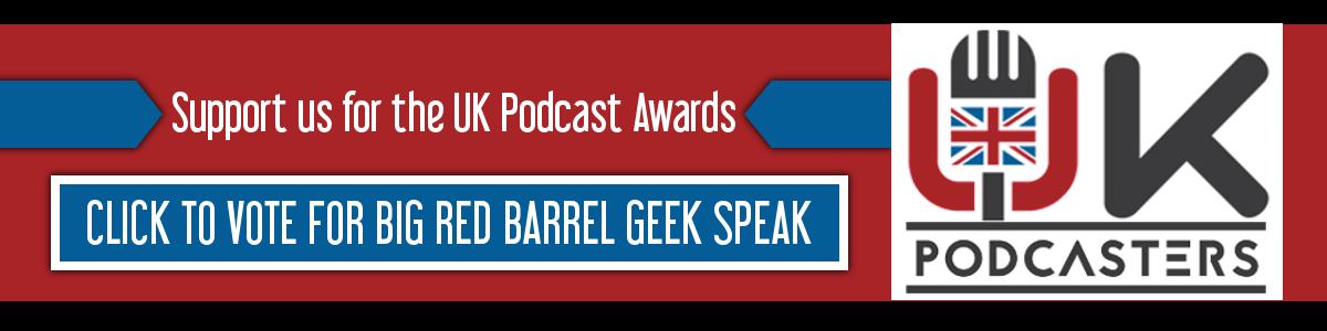 Vote BRB Geek Speak