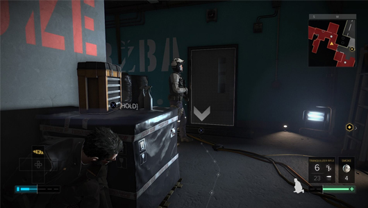 If you are not sneaking in Mankind Divided, you may be doing it wrong