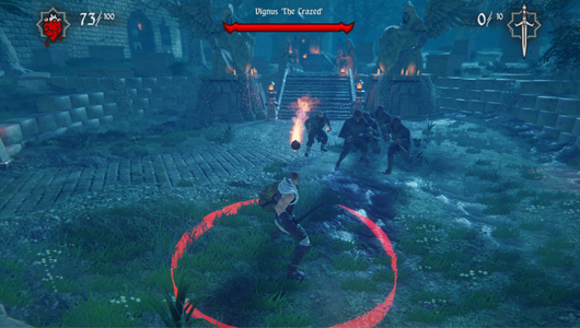 Hand Of Fate's Combat takes plece in small arenas