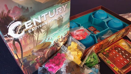 Century Eastern Wonders - box
